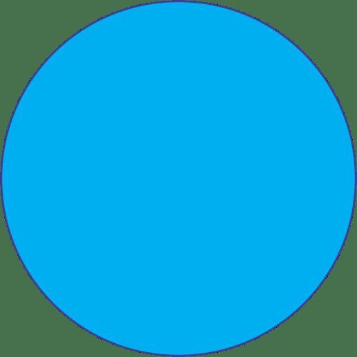 🔵 Emoji círculo azul