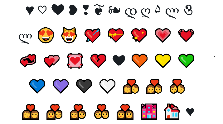 Heart Symbol Copy and Paste
