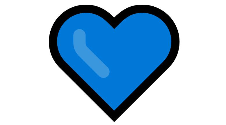 Coração Emoji PNG 💙
