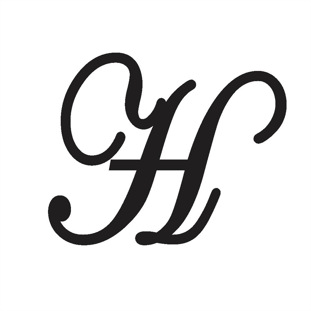 cursive h uppercase