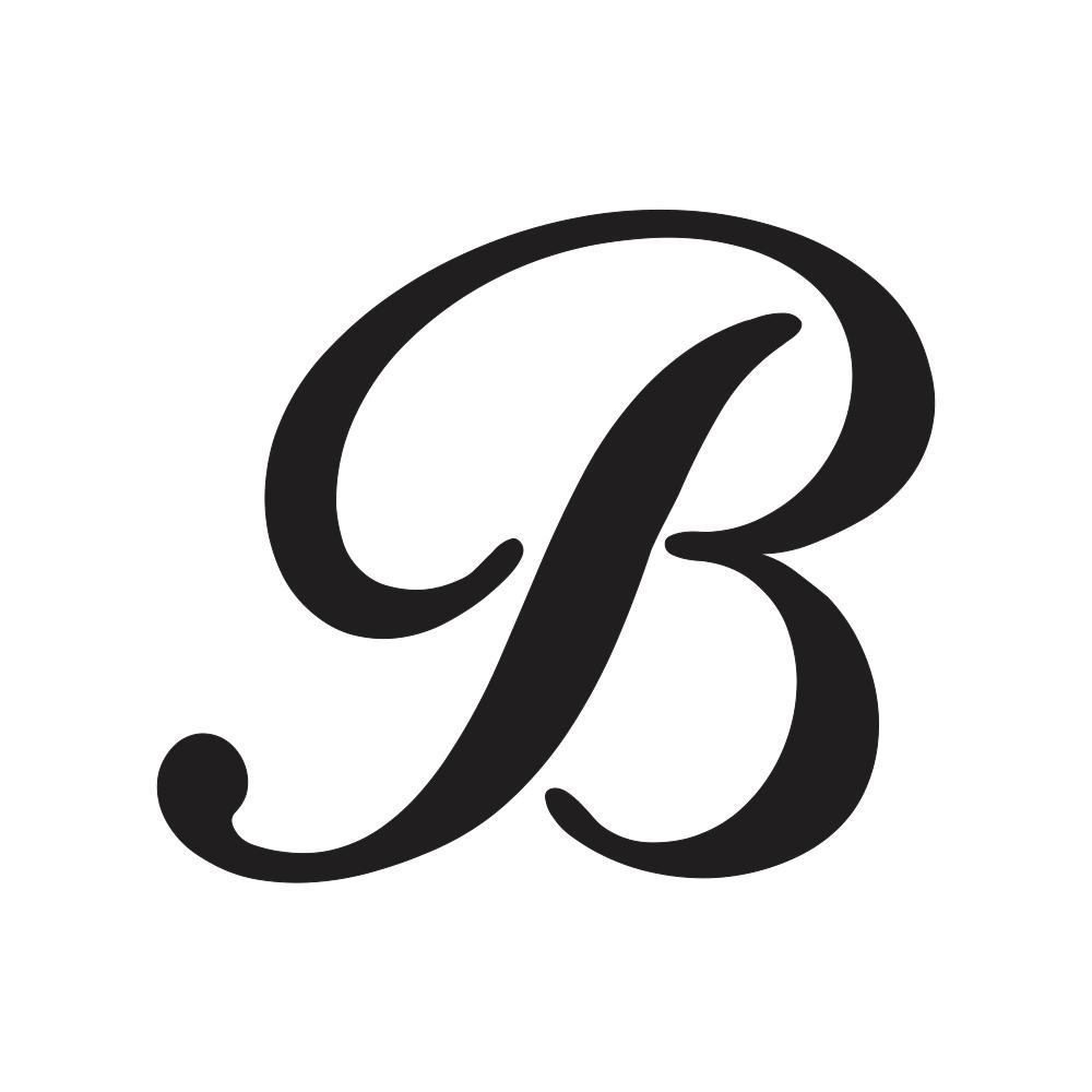 b in Cursive