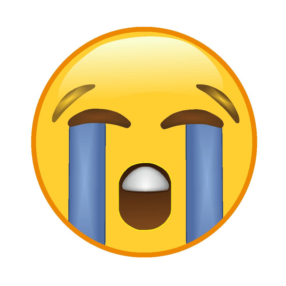 emoji chorando 😭