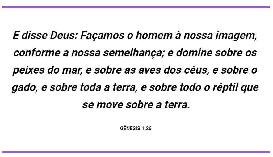 Gênesis 1 26