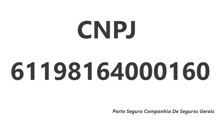 CNPJ 61198164000160
