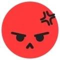 Emoji angry tiktok