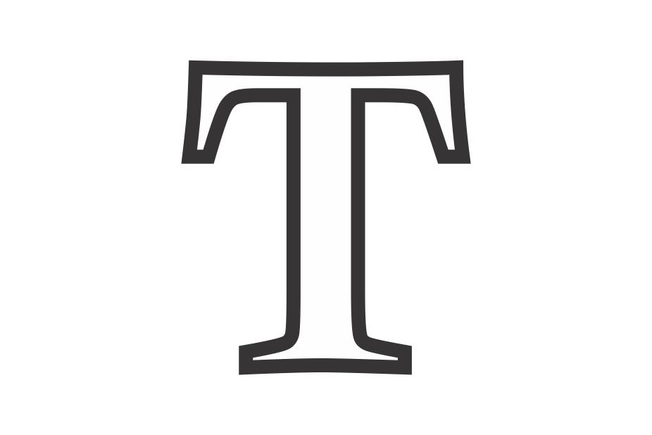 Molde letra T