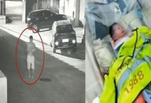 Photo of شاهد الفيديو: أب يُلقي ابنته الرضيعة في سلة المهملات