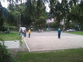 Hartplatz / Boule