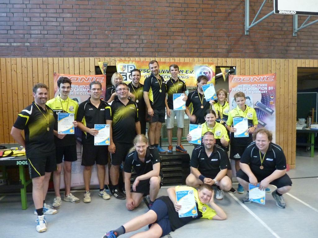 Vereinsmeisterschaft Tischtennis 2018 #PSG #Mannheim e.V.