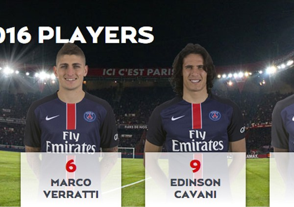 Paris Saint Germain Players