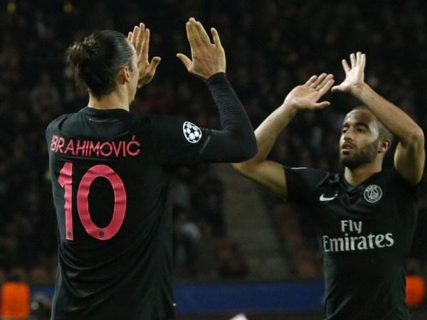 Zlatan and Lucas