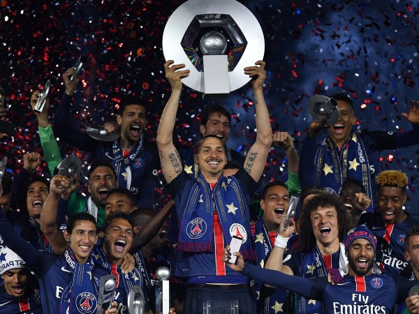 Paris Saint Germain Celebration