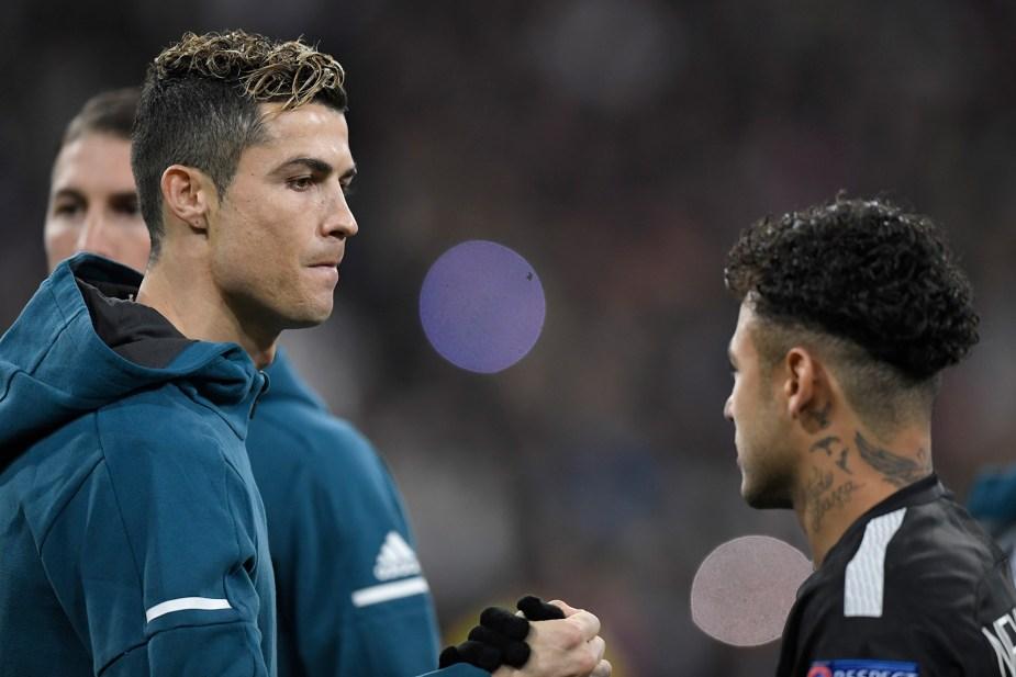 Neymar and Ronaldo