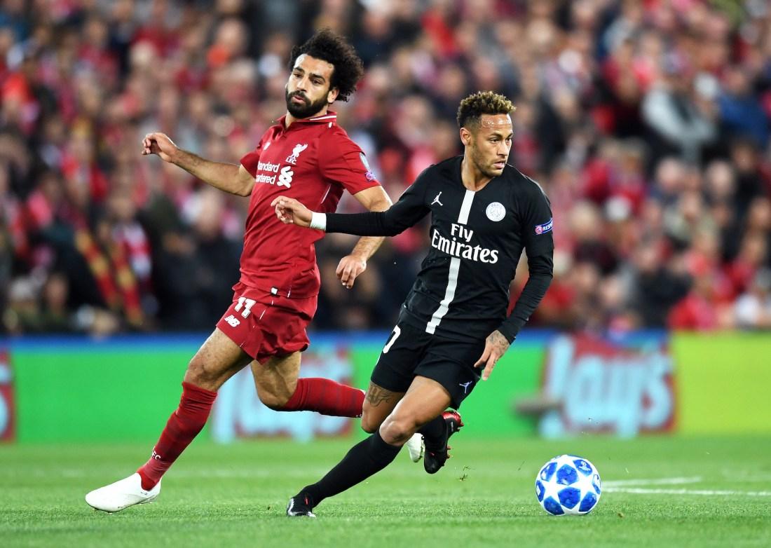 Neymar and Salah