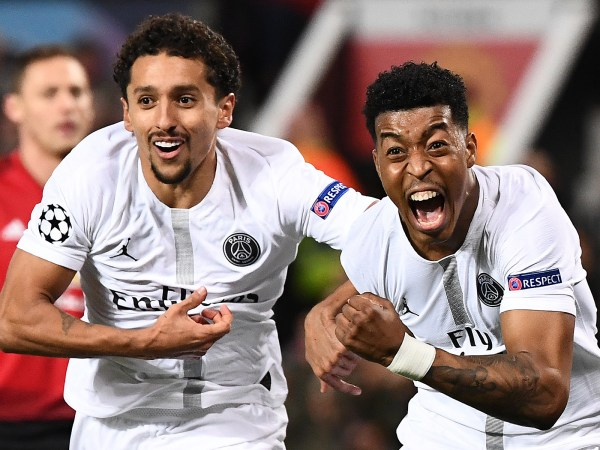 Marquinhos and Kimpembe