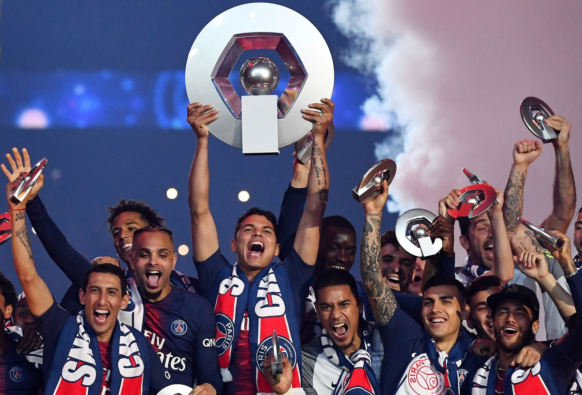 Watch PSG Celebrate 2018-19 Ligue 1 Title
