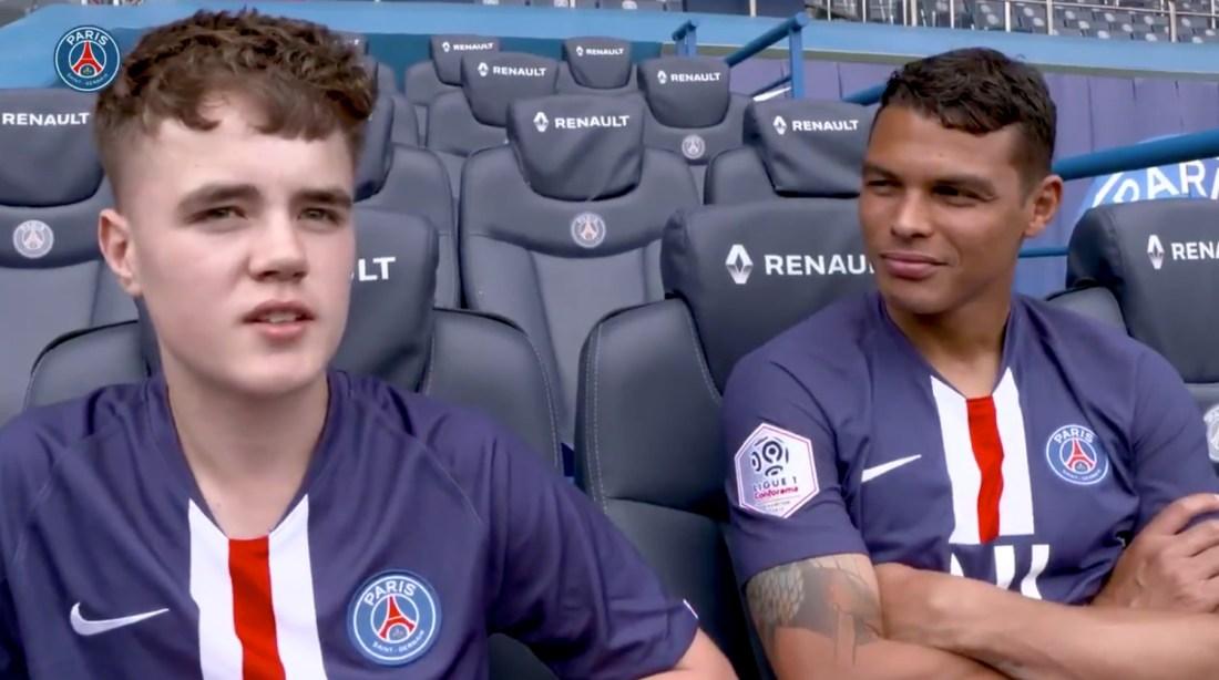 Alex Mann and Thiago Silva