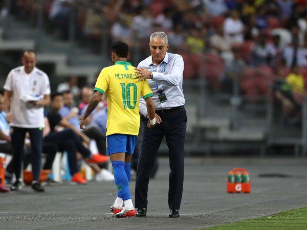Neymar and Tite