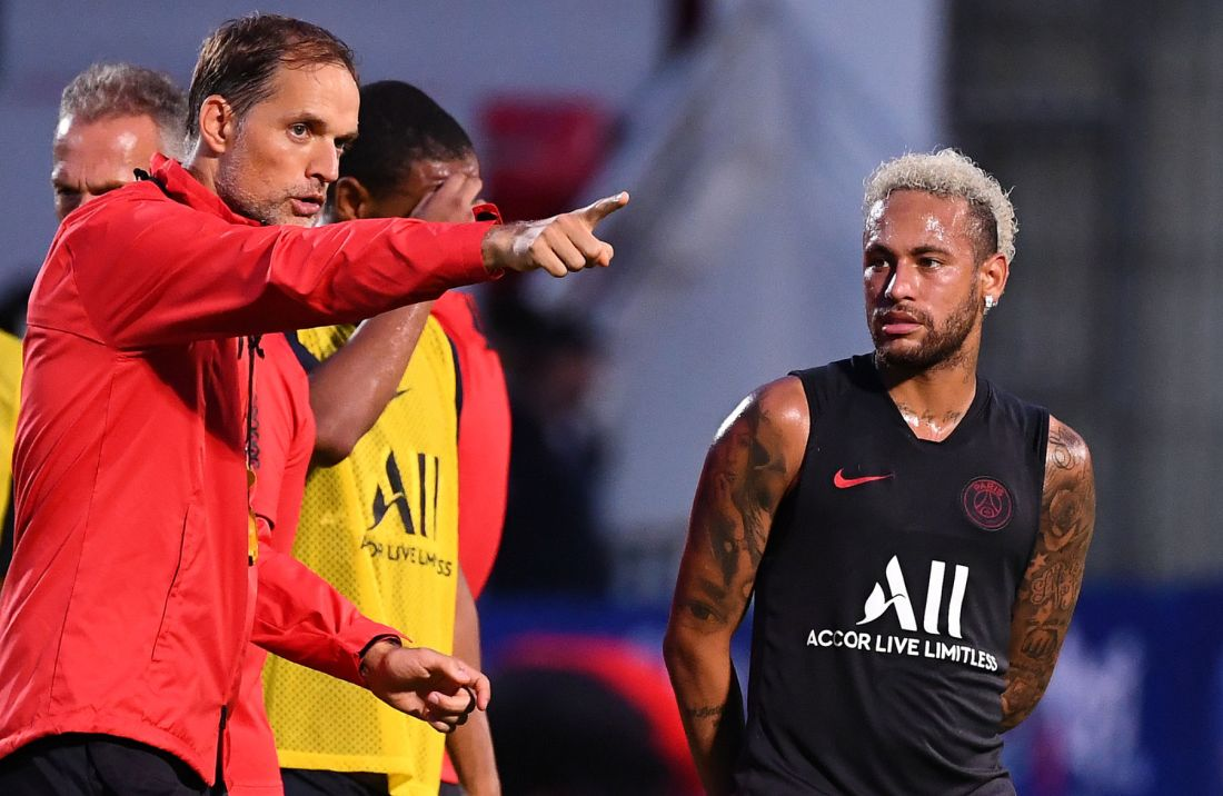 Tuchel and Neymar