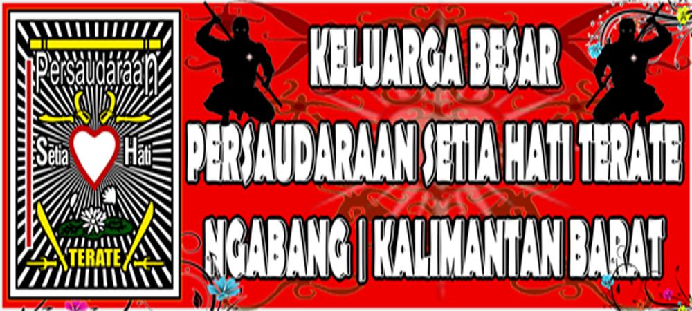 Rancangan Design Banner Keluarga Besar Psht Ranting Ngabang