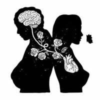 Hombre y mujer.