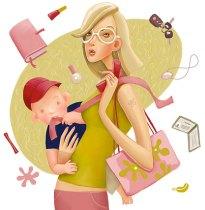 vaikas-ir-mama