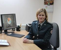 Marijampolės apskrities vyriausiojo policijos komisariato Kazlų Rūdos policijos komisariato Viešosios policijos skyriaus vyresnioji specialistė