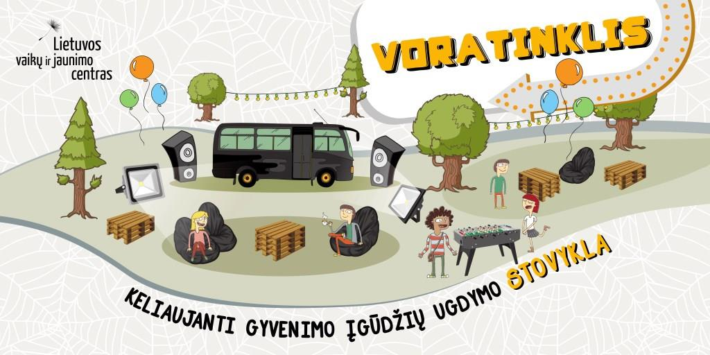 Keliaujanti stovykla VORATINKLIS
