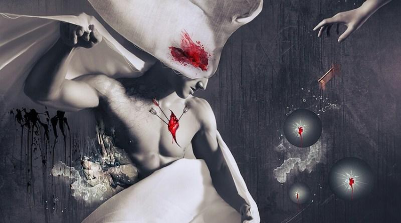 Eros o cúpido e Deus do Erotismo