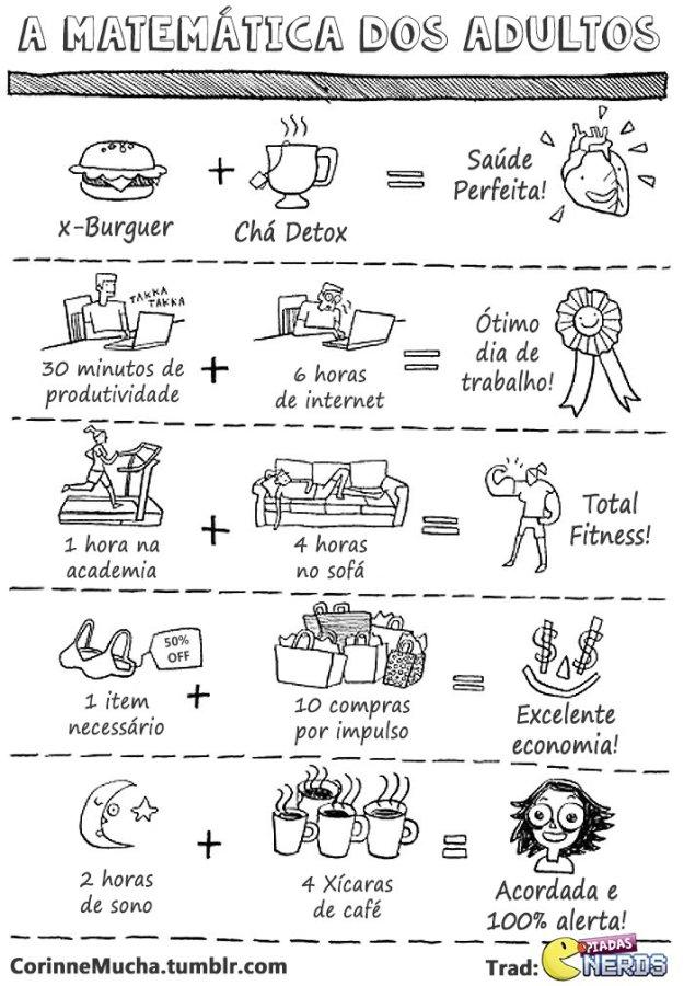 metas: a matemática da vida adulta