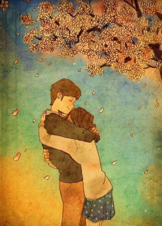 prova de amor casal se abraçando apertado