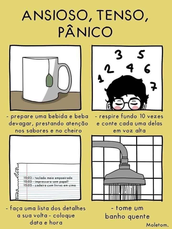 Dicas psicológicas para ansidedade, tensão e pânico - não fique ansioso, tenso ou em pânico a toa - psico.online