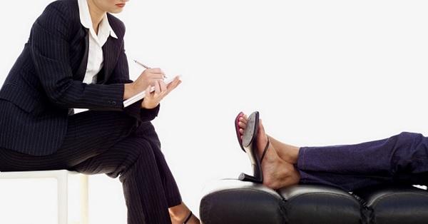 psicólogo, pessoa no divã, terapia