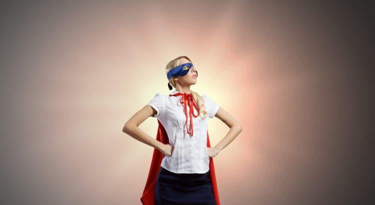 super profissional, super mulher, heroína