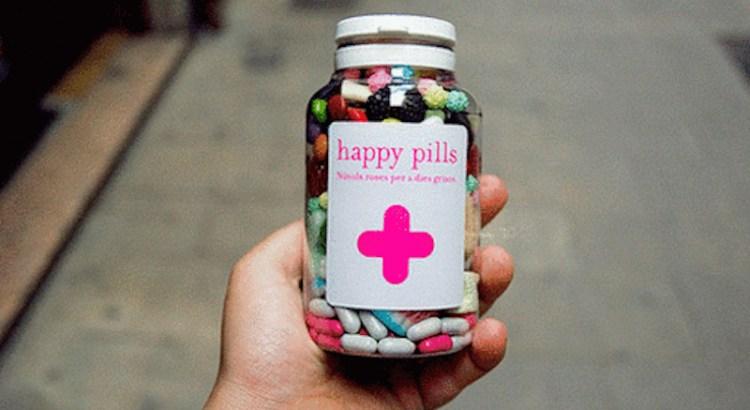 pílula da felicidade