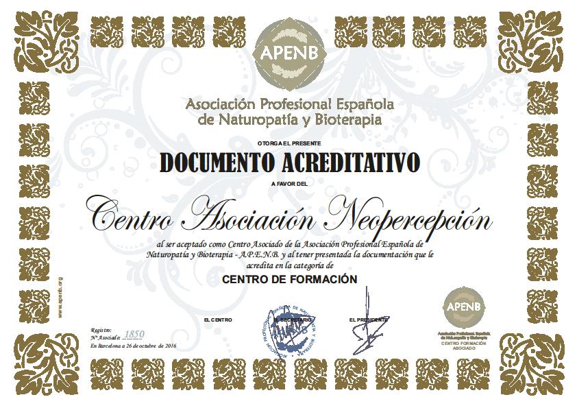 Centro Asociación Neopercepción