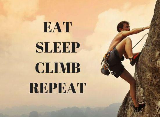 eat sleep climb madrid