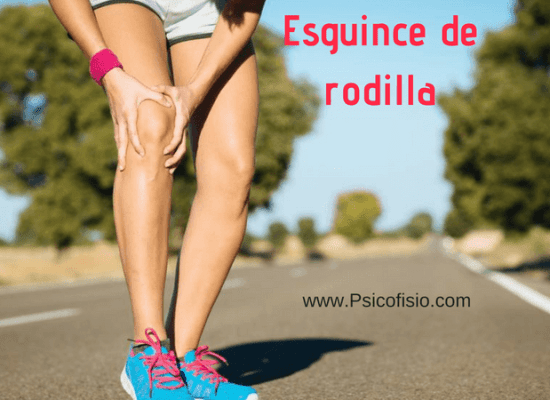 esguince de rodilla solucion