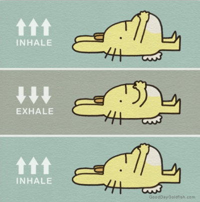 respirar para relajarse