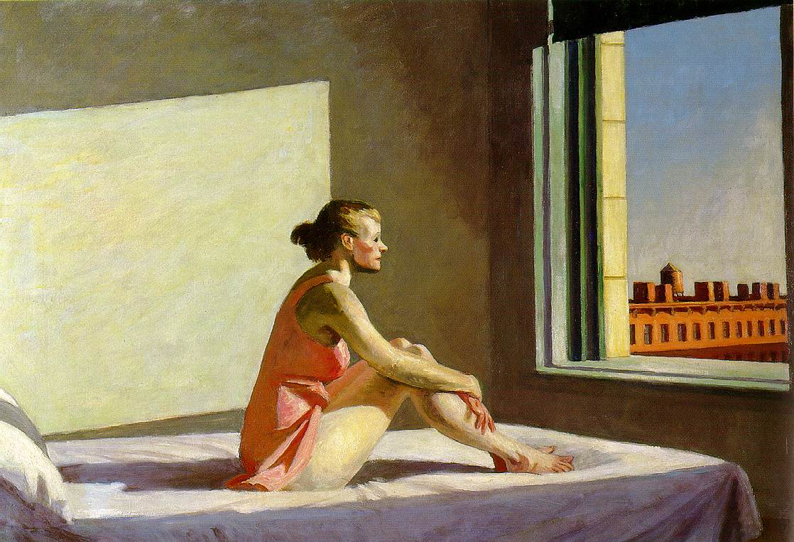 D. Hopper, morning sun