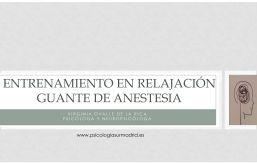 psicologo en mostoles video anestesia