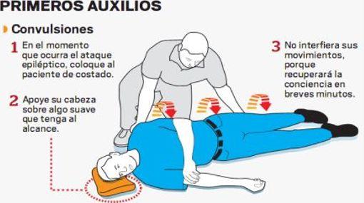 Primeros Auxilios Si Alguien Padece Convulsiones
