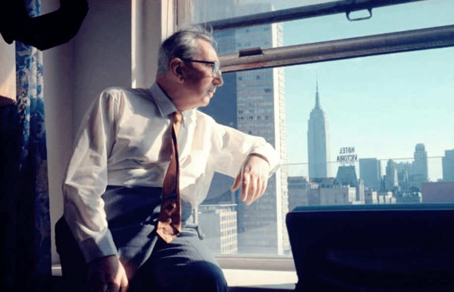 Viktor Frankl, cerca de 1968, en New York, USA.