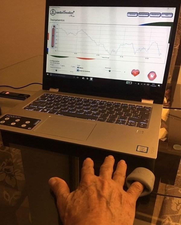 Monitoramento Biofeedback.