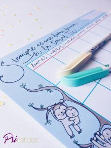 planificador mensual quiérete mucho