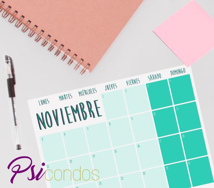 Planning noviembre