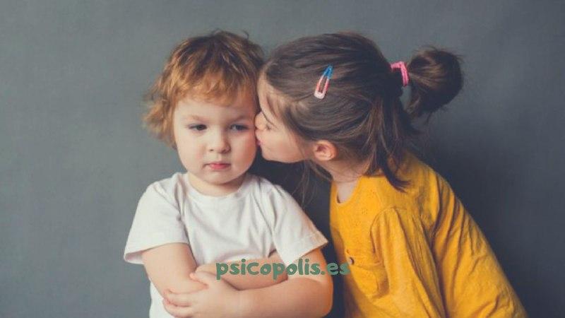Mi hijo/a no da besos: es su personalidad.