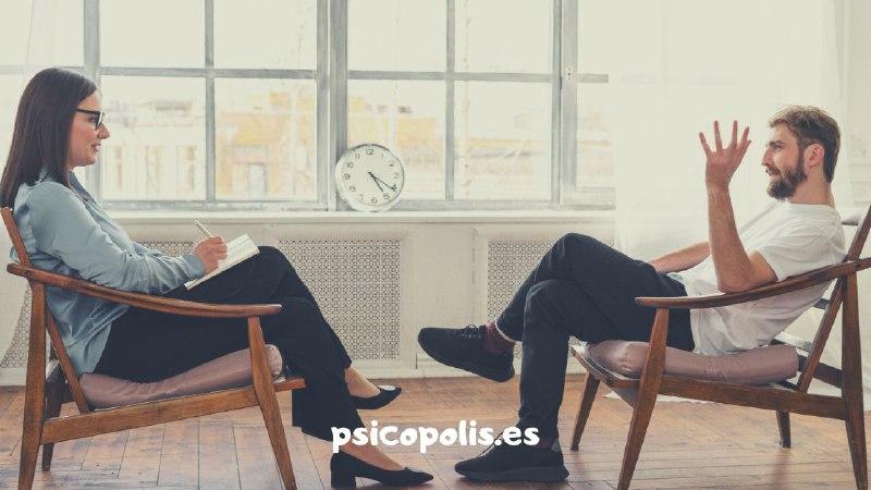 en la consulta del psicólogo