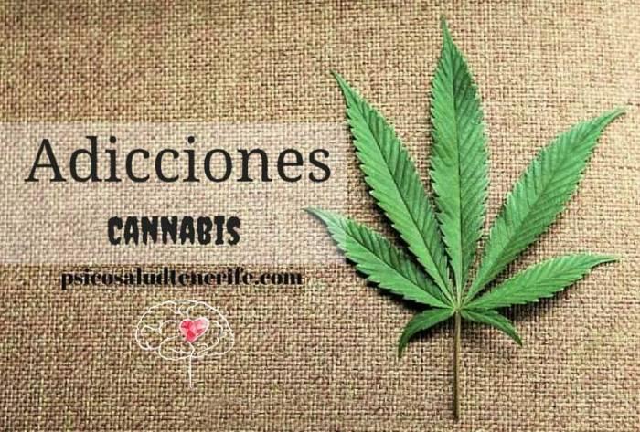 adicciones cannabis