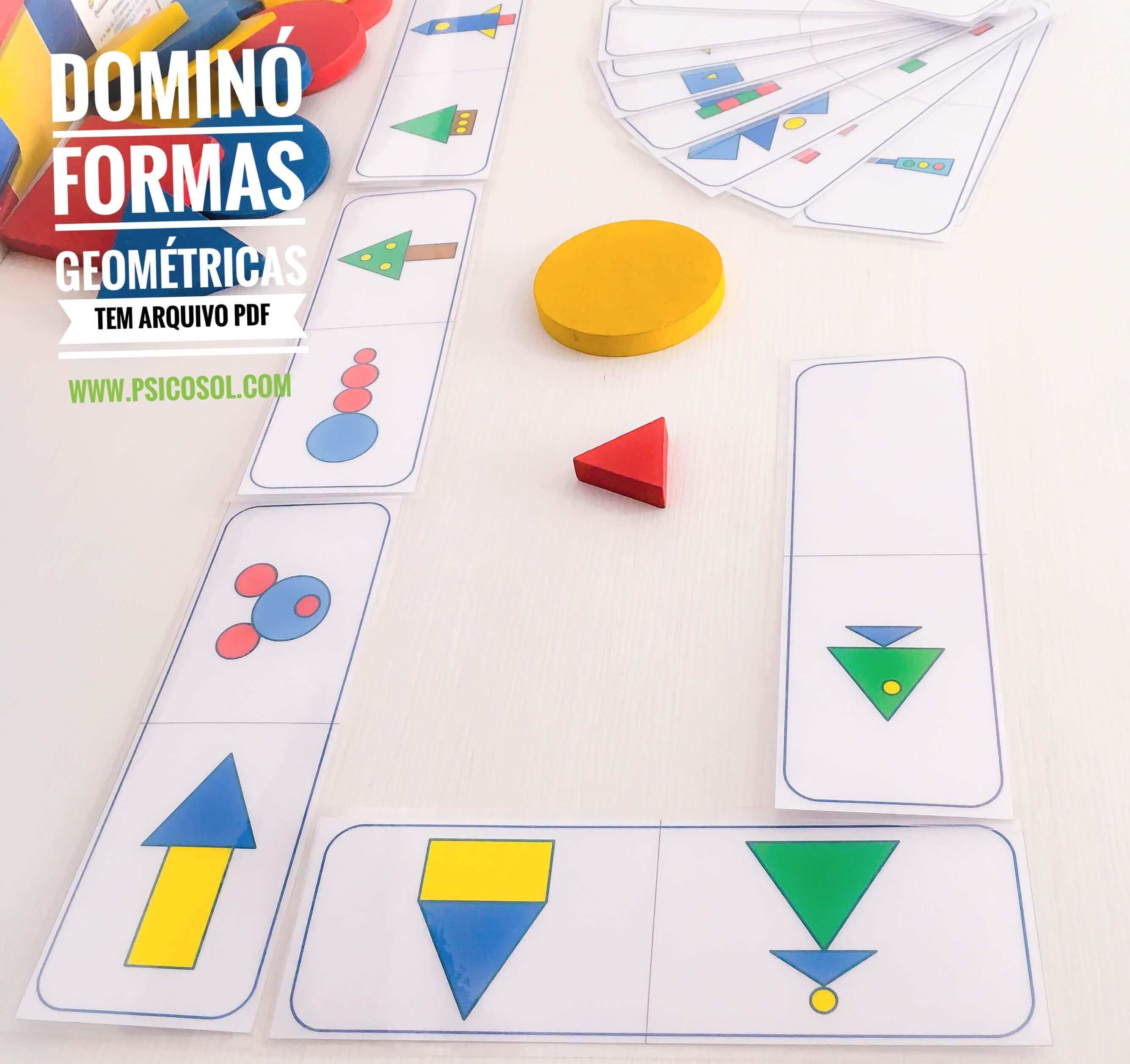 Dominó de formas geométricas